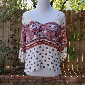 Flowing O'Neil blouse